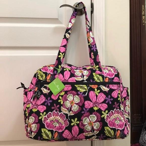 NWT Vera Bradley baby diaper bag pirouette pink e827674faf906